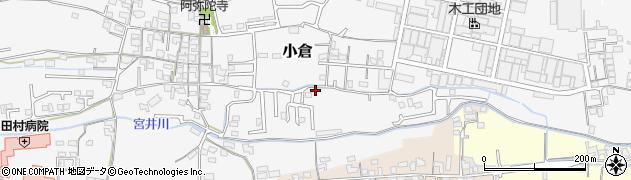 和歌山県和歌山市小倉周辺の地図