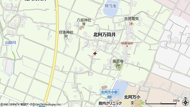 〒656-0534 兵庫県南あわじ市北阿万筒井の地図