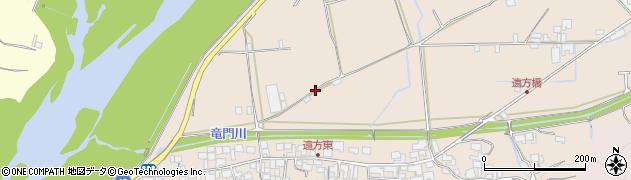 和歌山県紀の川市遠方周辺の地図