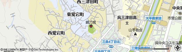 鯛乃宮周辺の地図