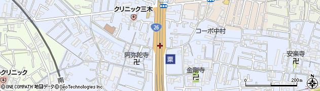 和歌山県和歌山市粟周辺の地図