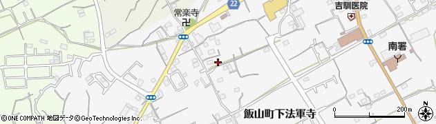 香川県丸亀市飯山町下法軍寺原川周辺の地図