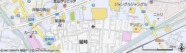 和歌山県和歌山市延時周辺の地図