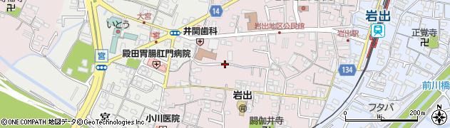 和歌山県岩出市清水周辺の地図