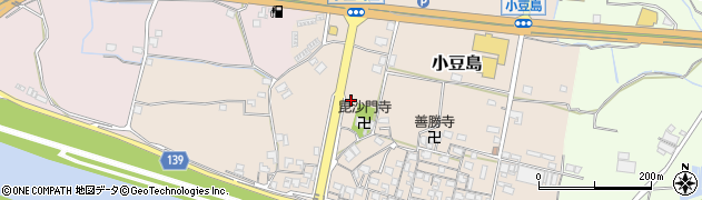 和歌山県和歌山市小豆島周辺の地図