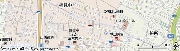 和歌山県和歌山市楠見中周辺の地図