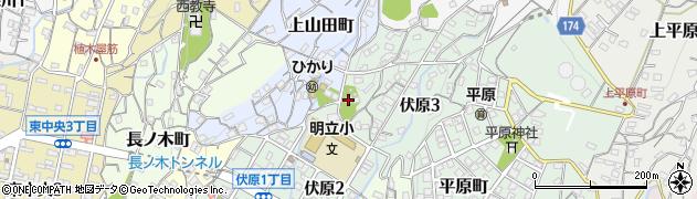 伏原神社周辺の地図