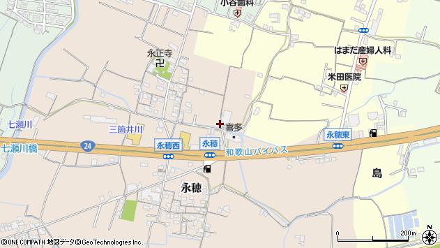 〒649-6333 和歌山県和歌山市永穂の地図