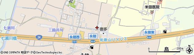 和歌山県和歌山市永穂周辺の地図
