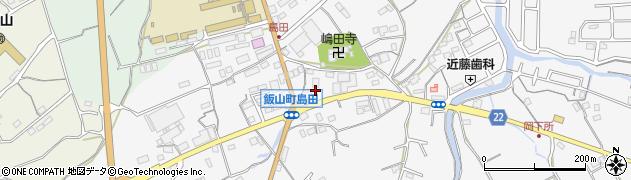 香川県丸亀市飯山町下法軍寺周辺の地図
