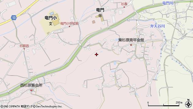 〒649-6565 和歌山県紀の川市杉原の地図