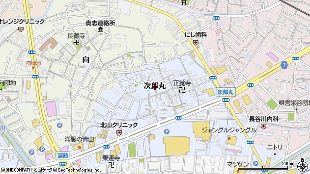 〒640-8444 和歌山県和歌山市次郎丸の地図