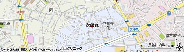 和歌山県和歌山市次郎丸周辺の地図