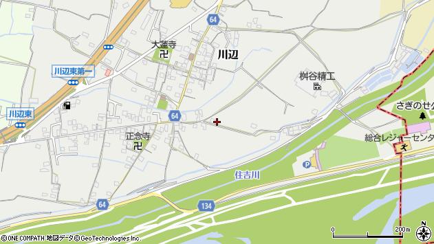 〒649-6312 和歌山県和歌山市川辺の地図