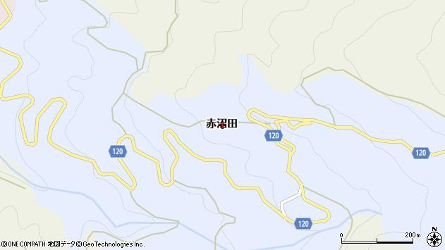 〒649-6614 和歌山県紀の川市赤沼田の地図