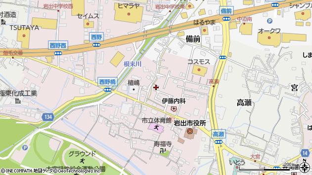 〒649-6235 和歌山県岩出市西野の地図