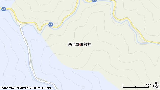 〒637-0227 奈良県五條市西吉野町勢井の地図