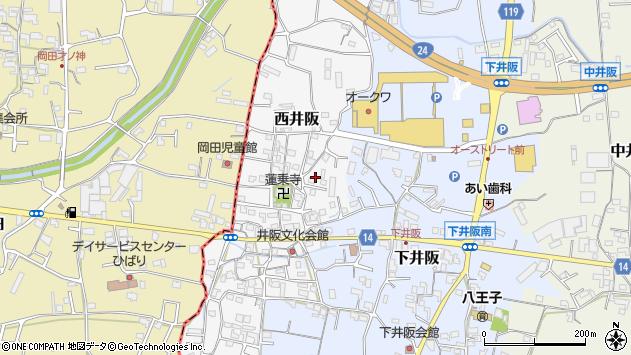 〒649-6427 和歌山県紀の川市西井阪の地図