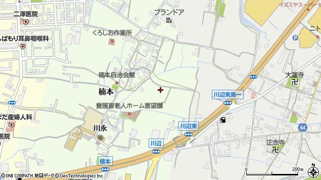 〒649-6313 和歌山県和歌山市楠本の地図