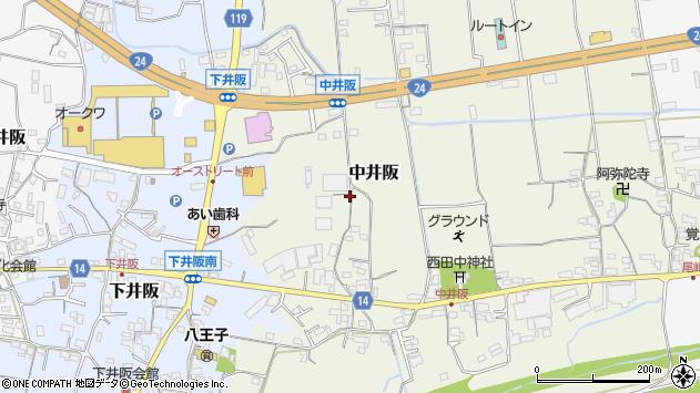 〒649-6425 和歌山県紀の川市中井阪の地図