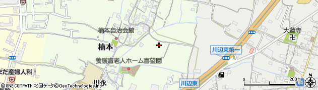 和歌山県和歌山市楠本周辺の地図