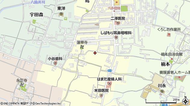 〒649-6314 和歌山県和歌山市島の地図