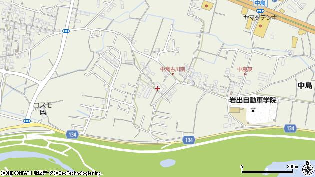 〒649-6245 和歌山県岩出市中島の地図