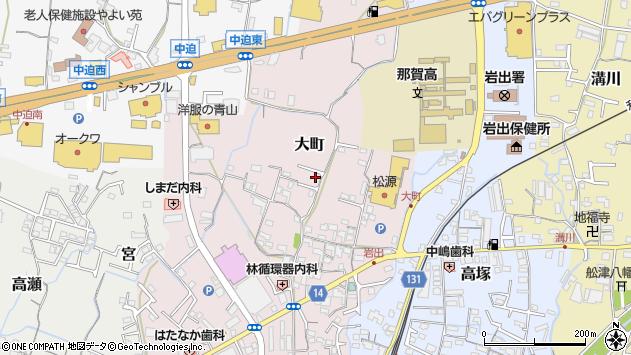 〒649-6228 和歌山県岩出市大町の地図