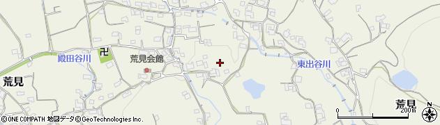 和歌山県紀の川市荒見周辺の地図
