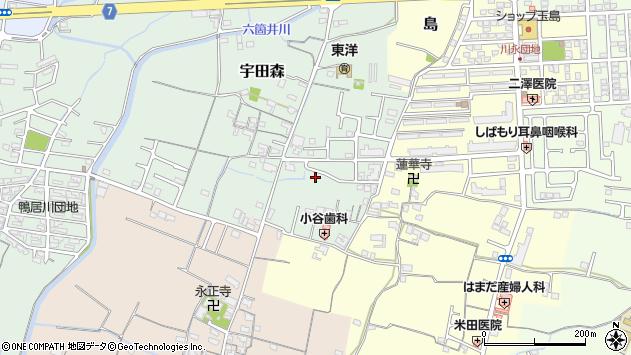 〒649-6332 和歌山県和歌山市宇田森の地図