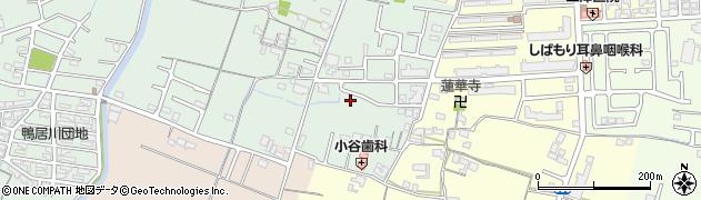 和歌山県和歌山市宇田森周辺の地図