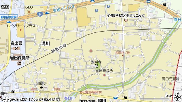 〒649-6222 和歌山県岩出市岡田の地図