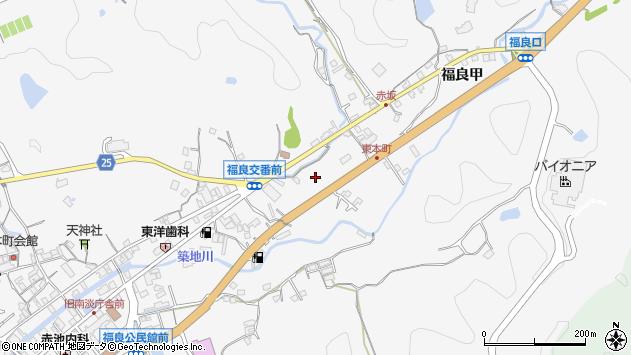 〒656-0501 兵庫県南あわじ市福良甲の地図