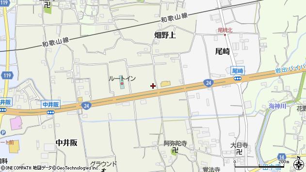 〒649-6424 和歌山県紀の川市畑野上の地図