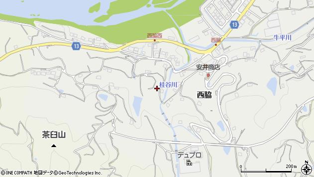 〒649-6616 和歌山県紀の川市西脇の地図