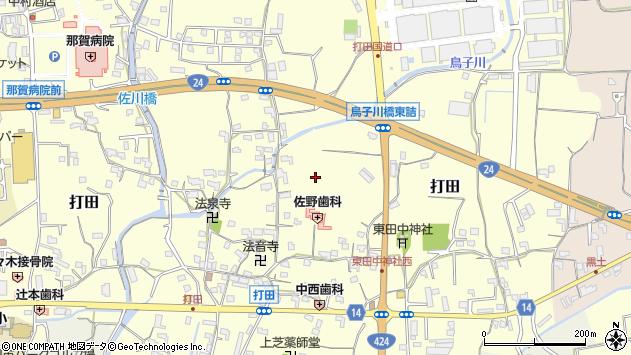 〒649-6414 和歌山県紀の川市打田の地図