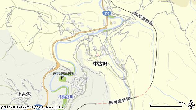 〒648-0144 和歌山県伊都郡九度山町中古沢の地図