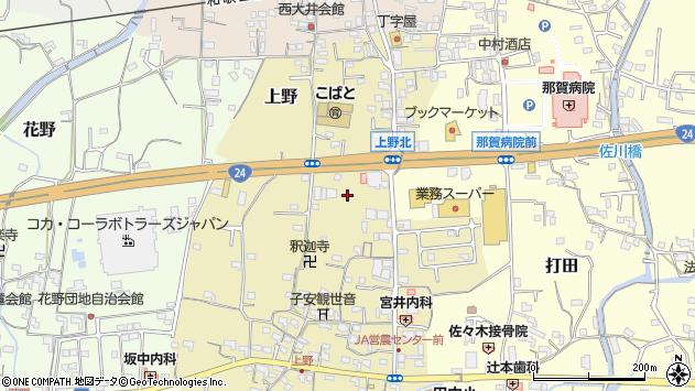〒649-6416 和歌山県紀の川市上野の地図
