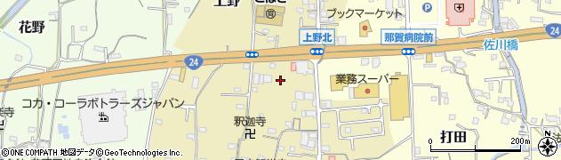 和歌山県紀の川市上野周辺の地図