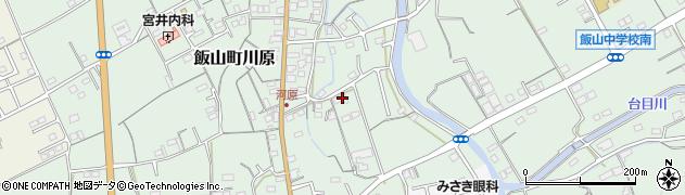 香川県丸亀市飯山町川原周辺の地図