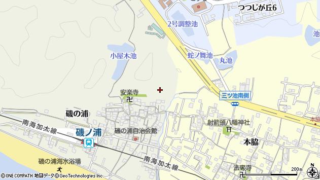 〒640-0114 和歌山県和歌山市磯の浦の地図