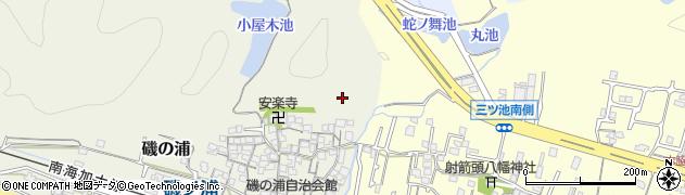和歌山県和歌山市磯の浦周辺の地図