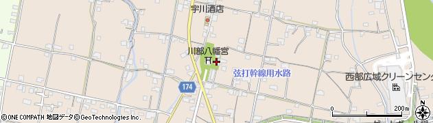 川部八幡神社周辺の地図