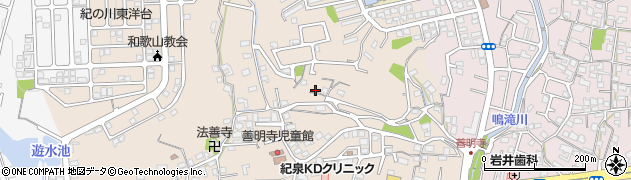 和歌山県和歌山市善明寺周辺の地図