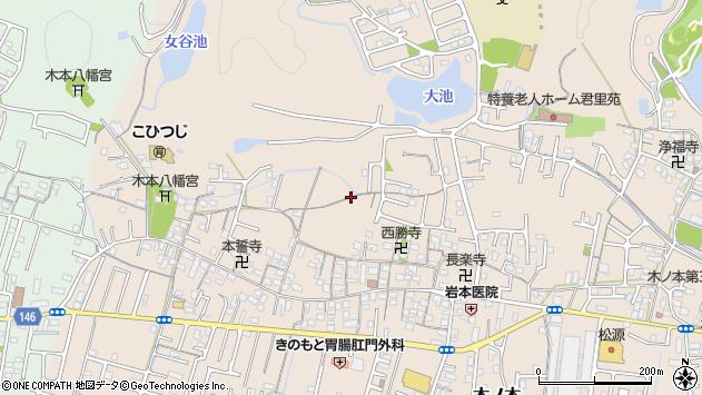 〒640-8453 和歌山県和歌山市木ノ本の地図