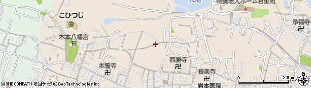 和歌山県和歌山市木ノ本周辺の地図