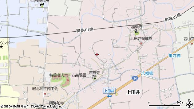 〒649-6551 和歌山県紀の川市上田井の地図