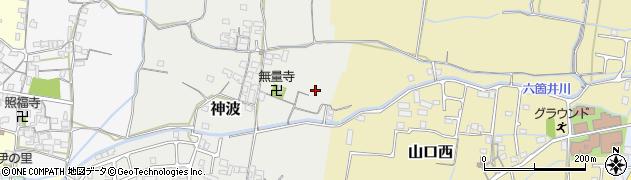和歌山県和歌山市神波周辺の地図