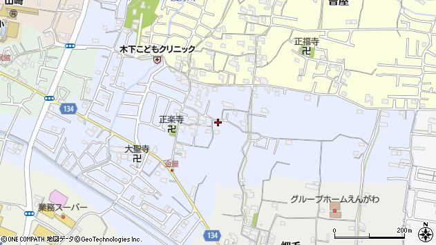 〒649-6243 和歌山県岩出市金屋の地図
