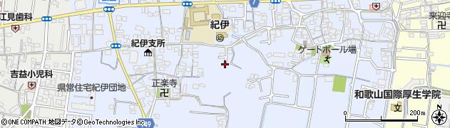 和歌山県和歌山市弘西周辺の地図